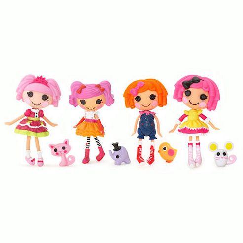 Mini Lalaloopsy Dolls 4 Pack - Set 23