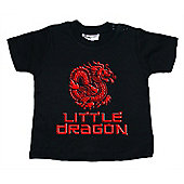 Dirty Fingers Little Dragon Kung Fu Baby T-shirt