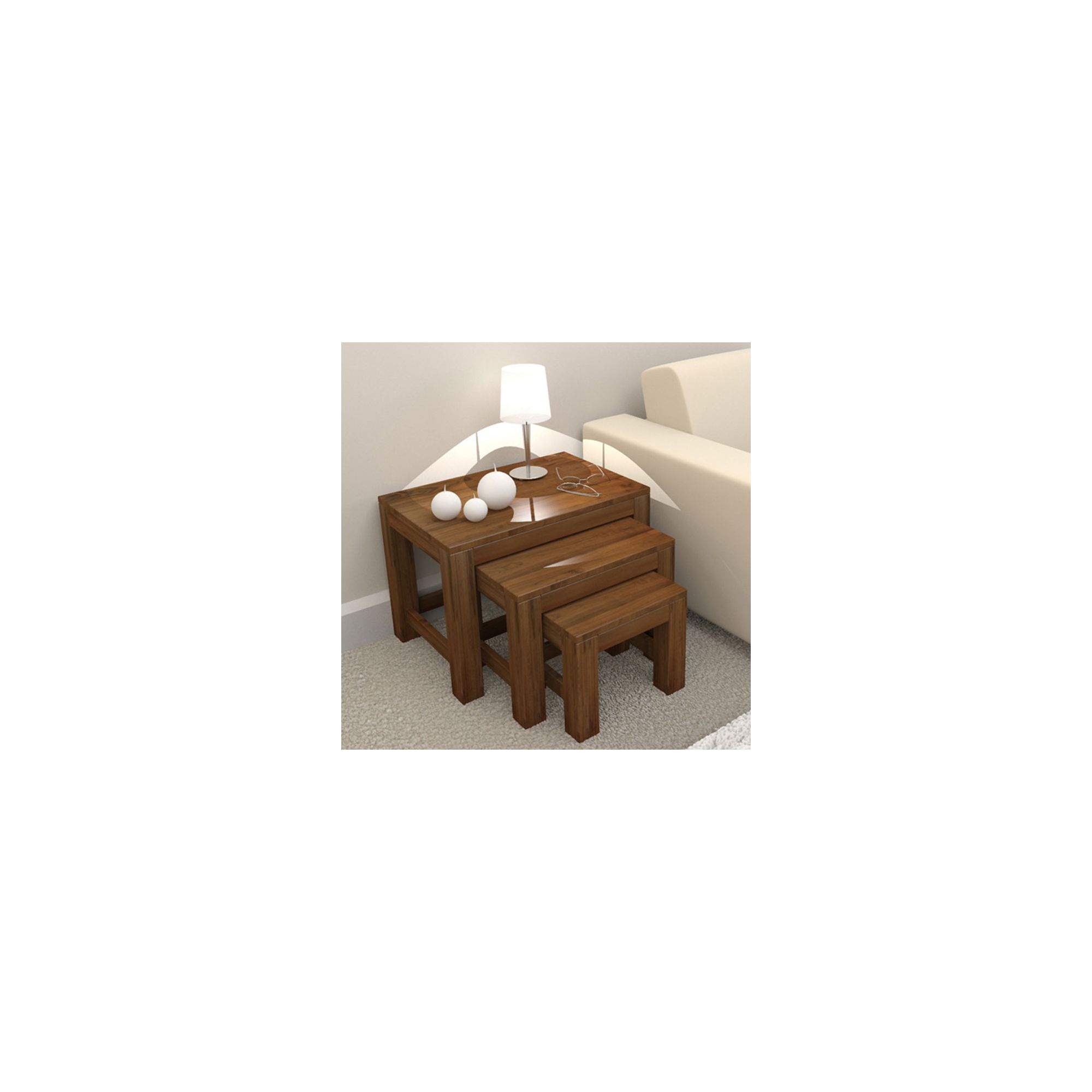 Home And Garden Furniture Baumhaus Mayan Walnut Large Bookcase Special Offers