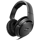 Sennheiser HD419 Sleek Closed-Back Stereo Headphones with Dynamic Bass - Black