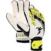 Goalkeeper Gloves Precision Basillerao Eco Flat Palm - Black & White