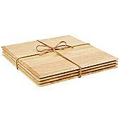 T&G Woodware Ltd Square Table Mat (Set of 4)