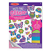 Melissa & Doug Mess Free Glitter - Friendship Foam Stickers