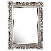 D & J Simons Berkeley Mirror - Silver - 111cm H x 81cm W