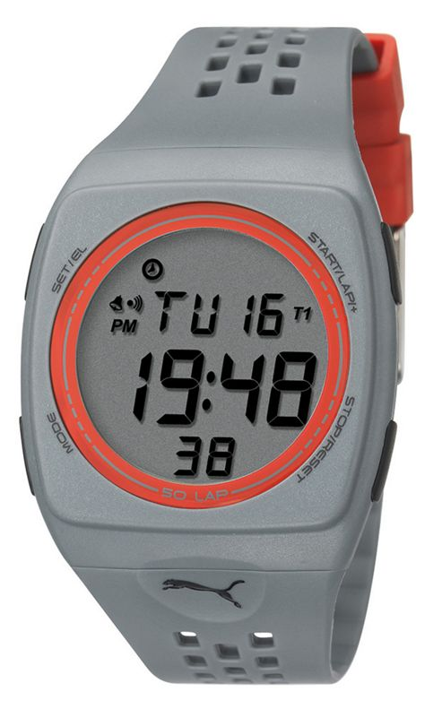 PUMA Active Unisex Plastic Alarm Chronograph Day Date Watch PU910991006