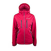 Hornet Womens Extreme Waterproof Breathable Warm Active Hooded Jacket Coat - Red