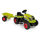 Smoby Claas Licensed Tractor with Trailor