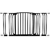 Dreambaby F790B Hallway Security Baby Gate Black 97cm - 135cm