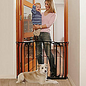 Dreambaby F790B Hallway Security Baby Gate Black 97cm - 135cm