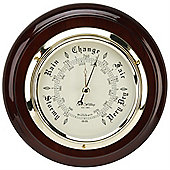 Round Open Dial Barometer
