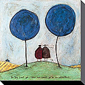 Sam Toft The Day I Met You Canvas Print