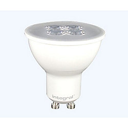 Pack Of Ten Integral GU10 Warm White 5.3W Spotlights