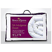 Kings & Queens Silk Indulgence 4.5 Tog Duvet, Superking