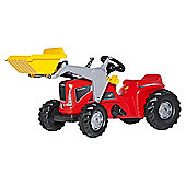 Rolly Futura Tractor Trailer Frontloader Red