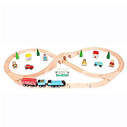 BIGJIGS RAIL Heritage Collection Mallard Train Set