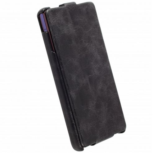 Krusell Vintage Tumba SlimCover Case for Sony Xperia Z - Black