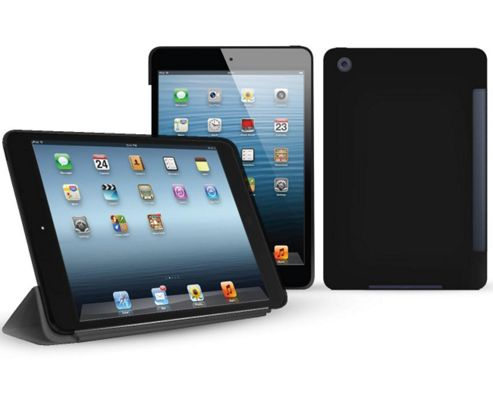 Black Smart ProGel Skin Case For Apple iPad Mini Tablet