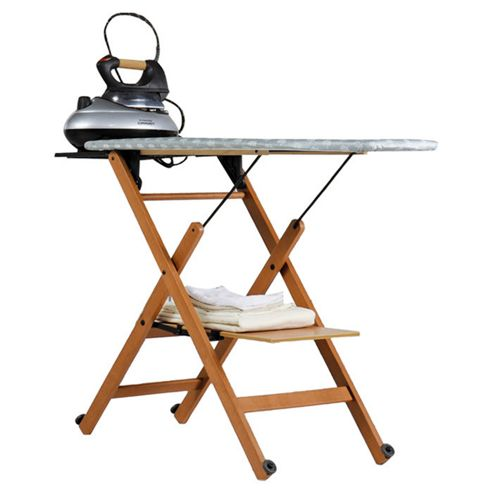 Foppapedretti Assai Folding Ironing Board - Walnut