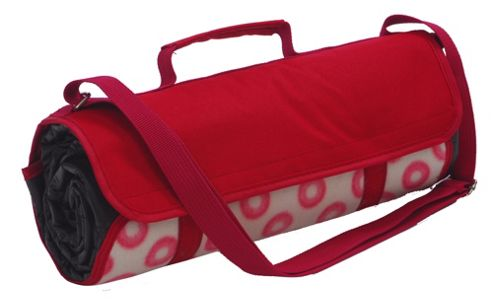 Epicurean Picnic Rug in Sorrento - Sorrento Red