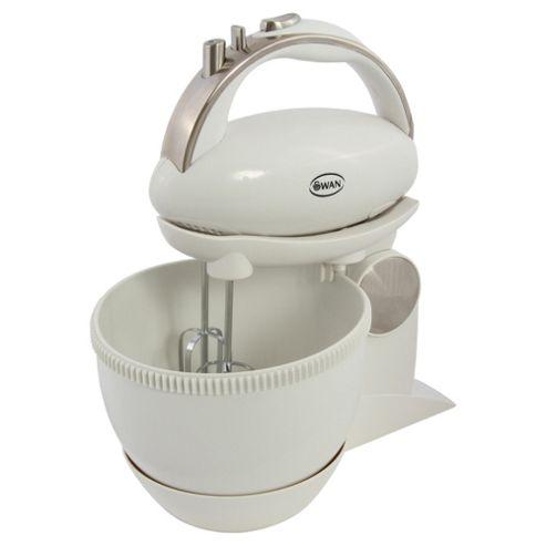Swan 5 speed hand mixer & bowl