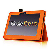 U-bop Neo-Orbit Midi Flip Case Orange - For Amazon Kindle Fire