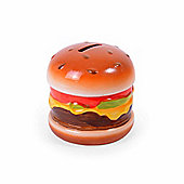 Novelty Ceramic Burger Money Box