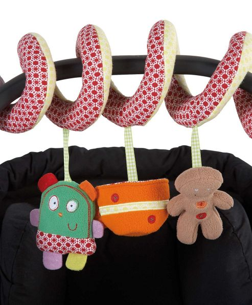 Mamas & Papas - Gingerbread - Activity Spiral
