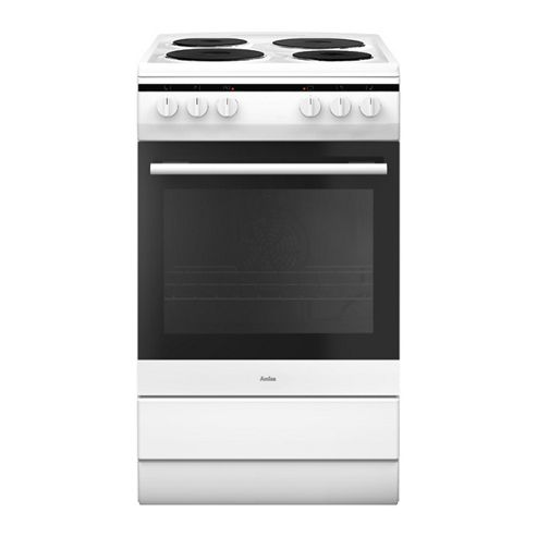 AMICA 508EE1W, 500mm, White, Electric Cooker
