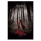 Red Riding Hood Gloss Black Framed Believe the Legend Poster