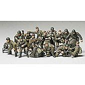 WWII Russian Infantry & Tank Crew Set - 1:48 Military - Tamiya