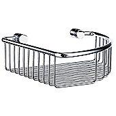 Smedbo Studio Corner Soap Basket - Polished Chrome