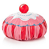 Cupcake Shower Cap - Pink
