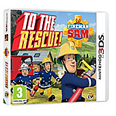 Fireman Sam To The Rescue 3DS