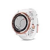 Garmin Fenix 3 Sapphire GPS Watch White Band