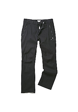 Craghoppers Mens Kiwi Pro Stretch Hiking Trousers - Black