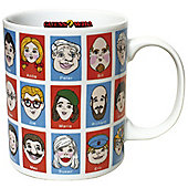 Gift Republic Guess Who Mug - Multi