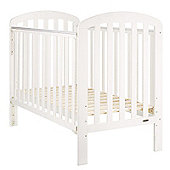 Obaby Lily Cot and Mattress - White