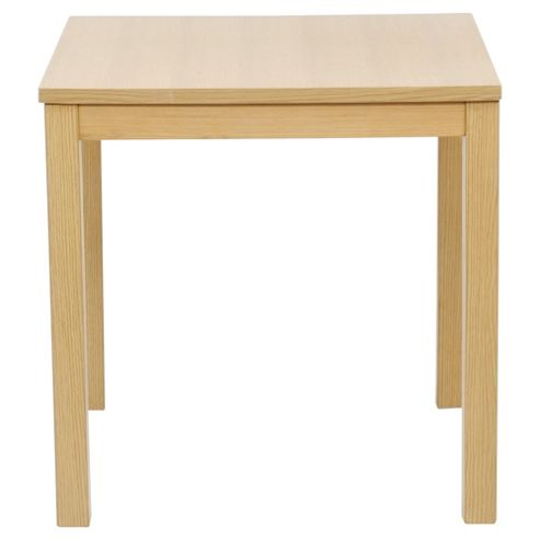 buy banbury 2 seat square dining table oak effect from