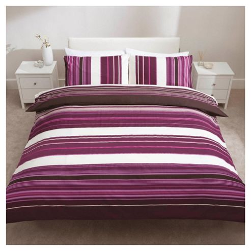 Kieran Stripe Duvet Double