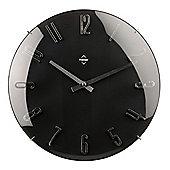 Premier Housewares Wall Clock - Black
