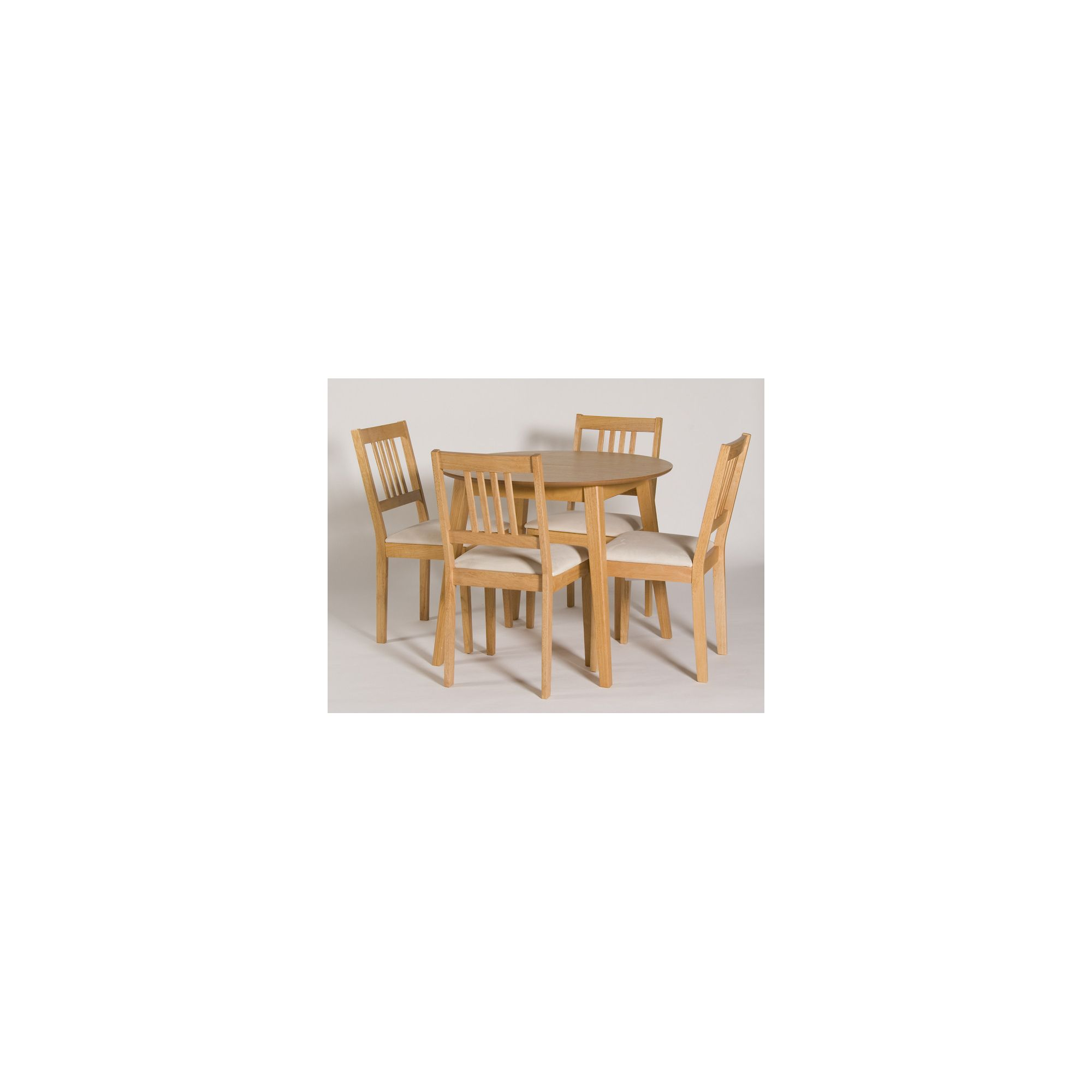 G&P Furniture Devon 5 Piece Flip Top Dining Set at Tesco Direct