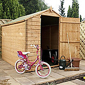 Mercia Garden Products Budget OSB Apex Storage Shed with Large Door