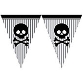 Pirate Parrty Flag Banner - 12ft (each)