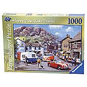 Ravensburger Happy Days Lake District 1000 Piece Jigsaw Puzzle