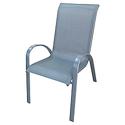 Seville Metal Frame Garden Chair, 4 Pack