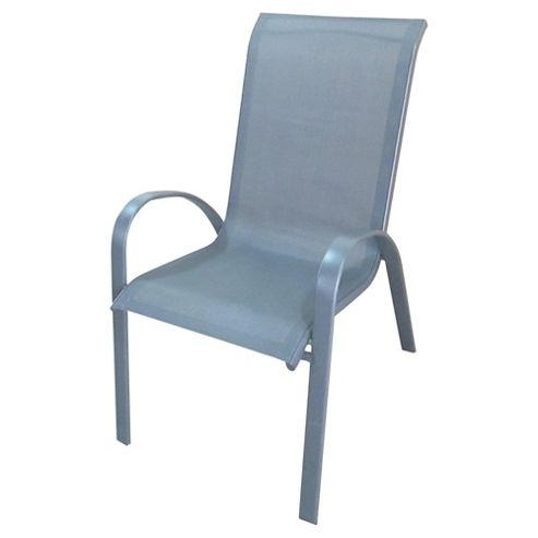 buy seville metal frame garden chair 4 pack from our
