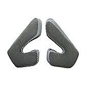 TroyLee D2 Cheek Pads Grey (25mm) Medium/Large