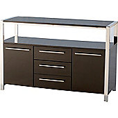 Home Essence Boston Sideboard in Black