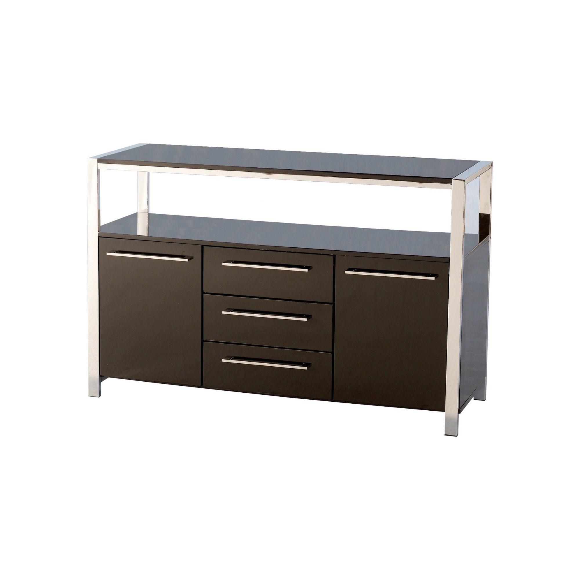 Home Essence Boston Sideboard in Black at Tesco Direct
