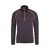 Mens Breeze Cycling Bike Bicycle Sports Running Jogging Gym Top - Charcoal